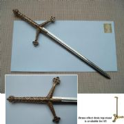 SCOTTISH CLAYMORE SWORD  LETTER OPENER